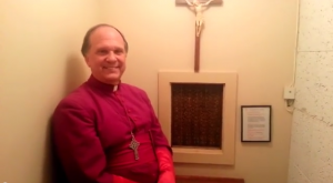 Bishop Keith Ackerman explains the power of confession and what it looks like from inside the confessional.