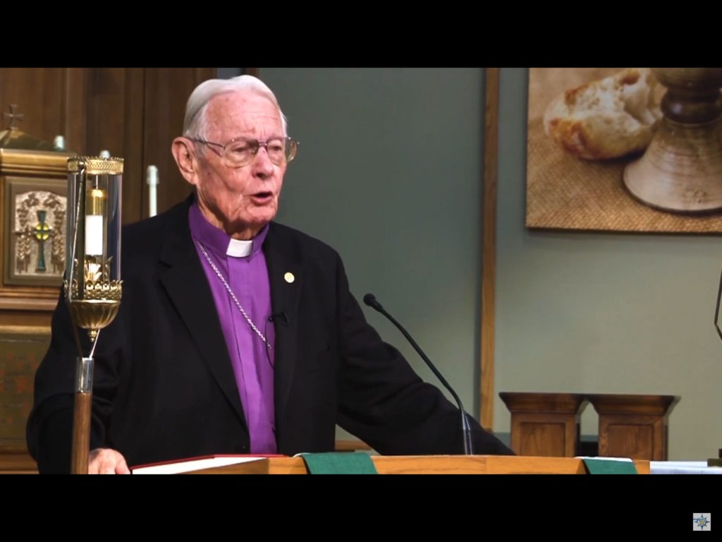 Bishop William Wantland talks about the Caholicity of Anglicanism - Click the image