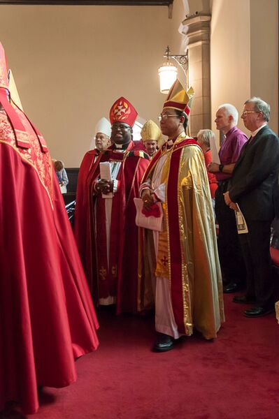 bishops in procession